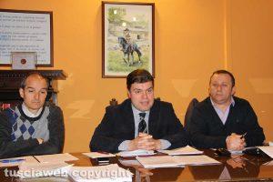 Elpidio Micci, Alessandro Romoli e Gianluca Grancini