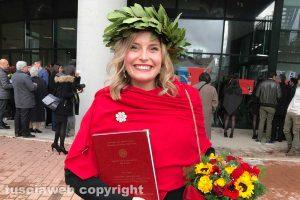 Terni - Laurea da 110 per Valentina Pompei