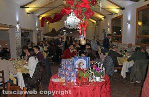 Viterbo - La cena di Marini e Sabatini a Bagnaia