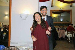 Antonella Sberna e Daniele Sabatini