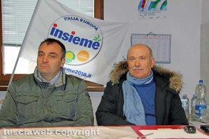 Danilo Piersanti e Mauro Giovanale