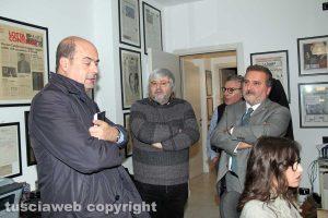 Nicola Zingaretti a Tusciaweb