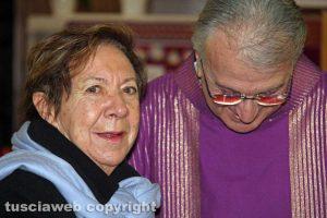 Funerali Corrado Buzzi - La moglie Lidia