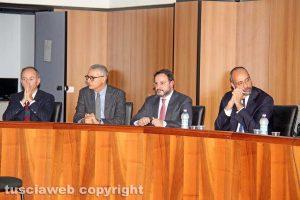 Marco Santoni, Luigi Sini, Carlo Orlando e Daniele Vattermoli