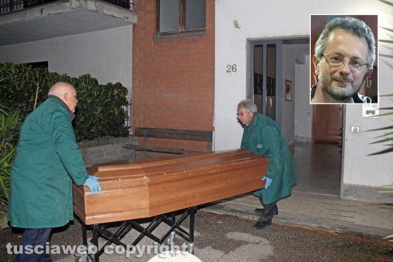 Viterbo - Delitto di via Santa Lucia - Nel riquadro: Ermanno Fieno