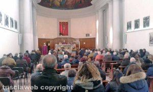 Viterbo - Delitto di via Santa Lucia - I funerali di Gianfranco Fieno e Rosa Rita Franceschini