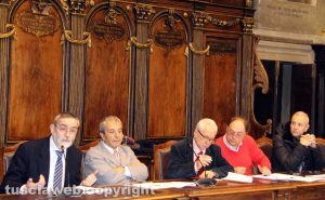 Viterbo - La riunione della quarta commissione sulle mense