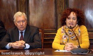 Il sindaco Michelini e la segretaria della Cna Melaragni