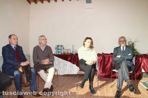 Daniela Donetti con Faggiani, Paoletti e Pompei