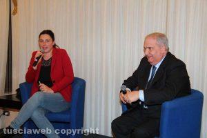 Martina Minchella con Giuseppe Fioroni