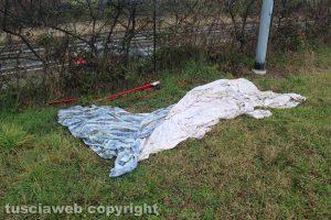 Viterbo - Delitto di via Santa Lucia - L'esame delle lenzuola