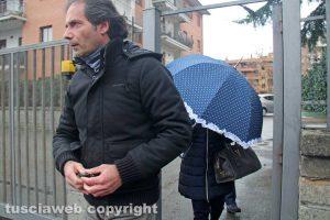 Viterbo - Delitto di via Santa Lucia - Luciano, il figlio dei coniugi Fieno
