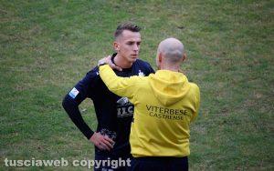 Sport - Calcio - Viterbese - Vandeputte a colloquio con Sottili