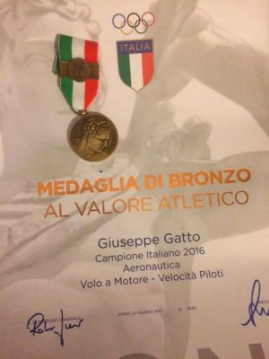 La medaglia di bronzo di Gatto