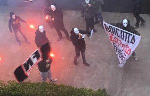 Raid fascista contro la Repubblica