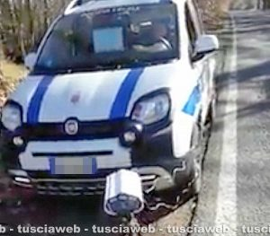"""Canepina - """"Bacchetta"""" la polizia locale - Il video pubblicato su Facebook"""