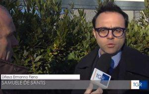 Tgr Rai - L'avvocato Samuele De Santis