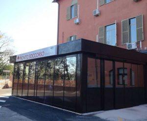 Civita Castellana - Il pronto soccorso dell'ospedale Andosilla
