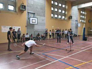 Incontri tematici di Badminton nelle scuole della Tuscia