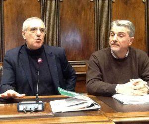 Maurizio Federici e Silvano Olmi del Comitato 10 febbraio
