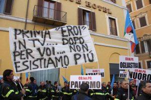 Vigili del fuoco - Manifestazione