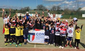 """""""Per gioco e per sport"""", il progetto Coni cui ha partecipato la Libertas Pilastro pattinaggio"""