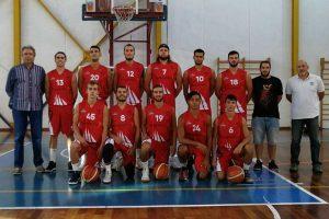 Sport - Pallacanestro - Favl basket - I biancorossi al completo