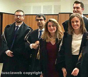 Tribunale - Giuramento nuovi avvocati
