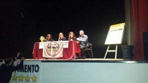 Tuscania - L'incontro con la candidata Lombardi al teatro Pocci