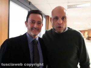 Gli avvocati Pietro Porri e Marco Valerio Mazzatosta