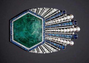 Uno dei gioielli in mostra a palazzo Ducale