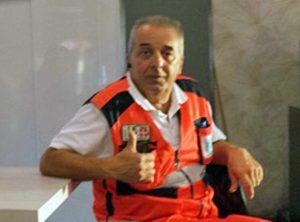 Roberto Furano in postazione al 118