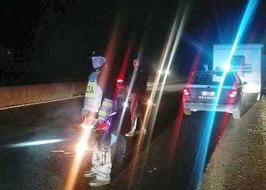 Viterbo - Camper in panne sulla Superstrada, l'intervento della polizia