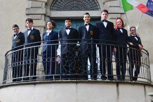 Caprarola - Gli studenti dell'Ipseoa Farnese