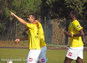 Sport - Calcio - Il match Montefiascone-Ostia - L'esultanza del Montefiascone