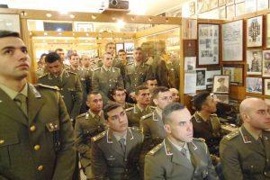 Gli allievi marescialli al 74esimo anniversario dell'operazione Shingle