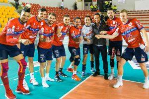 Sport - Pallavolo - Scarabeo Gcf - La squadra dopo la vittoria