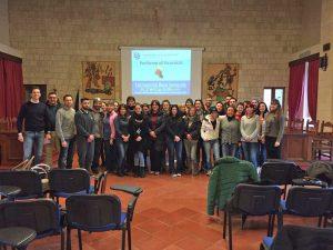 """Tarquinia - I partecipanti al corso """"La formazione a portata di mano"""""""