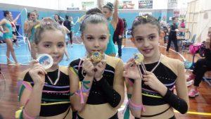 Sport - Ginnastica ritmica - Le atlete della Gym'art