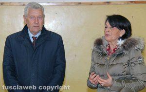 Viterbo - Leonardo Michelini e Maria Patrizia Gaddi