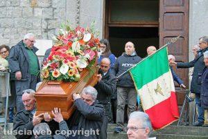 Viterbo - I funerali di Alessandro Bordoni