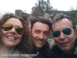 Ciro Esposito con Mario Rosati e Valeria