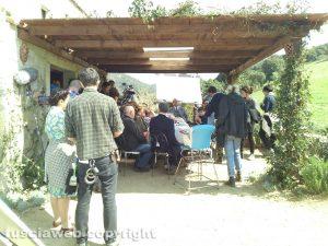 Il set del biopic Principe libero, dedicato a Fabrizio De André