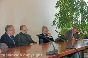 Viterbo - Unitus - La conferenza sui 22 milioni di fondi ottenuti