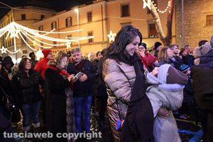 Luisa Ciambella in piazza per il Capodanno viterbese