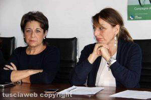 Antonella Proietti e Donatella Donetti