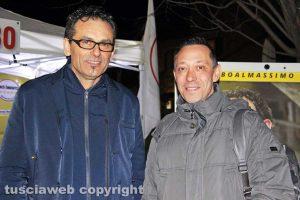 Massimo Erbetti e GIanluca De Dominicis