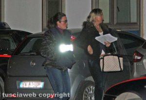 Viterbo - L'operazione dei carabinieri Birretta - E.A. portata in caserma