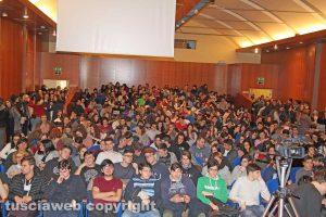 Viterbo - Gli studenti incontrano Gian Carlo Caselli