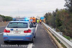 L'incidente sulla Superstrada